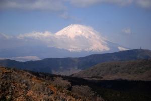 Mt Fuji from Mt Hakone.