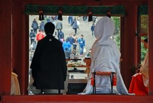 Traditional wedding.