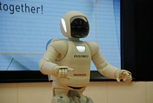 ASIMO the super-star.