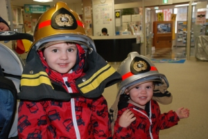 My little firefighters.