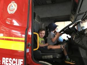 Little fire fighters.