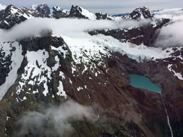 External snow in the Southern Alps.